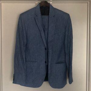 Other - Light Blue Linen Suit